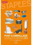 Post & Emballage Katalog 2015