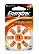 Batteri ENERGIZER hörsel 13 orange (8)