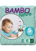 Blöja Bambo Nature Junior 12-22 kg 27/FP