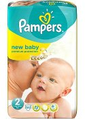 PAMPERS NEW BABY S2, 3-6 kg 58/FP