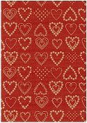 Presentpapper 35cmx179m Dotted Hearts