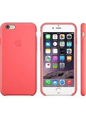 Apple Skydd Silikon iPhone 6/s Rosa