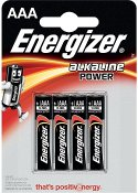 Batteri ENERGIZER Power AAA (4)
