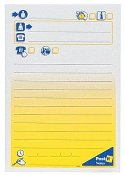 Notes POST-IT  meddelande stor 102x149mm