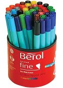 Fiberpenna BEROL Colourfine 42 pennor