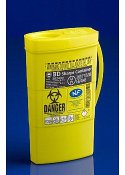 Kanylburk Sharps Collector plast 0,45L