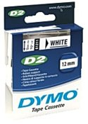 Tape DYMO D2 12mm svart på vit
