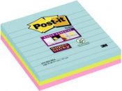 POST-IT Sup Stic Miami linj 101x101 3/FP