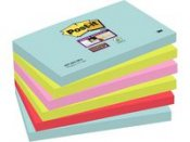 POST-IT Sup Stic Miami 76x127 mm 6/FP