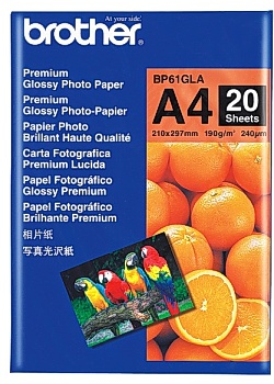Fotopapper BROTHER BP61 A4 190g (20)